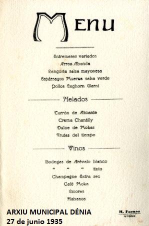 Denia_ arroz a banda_ 1935 menú a M de Cámara_002 - editat
